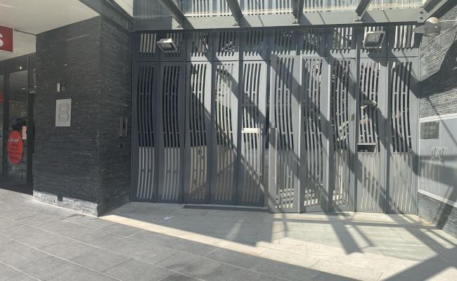 Security building parking /storage