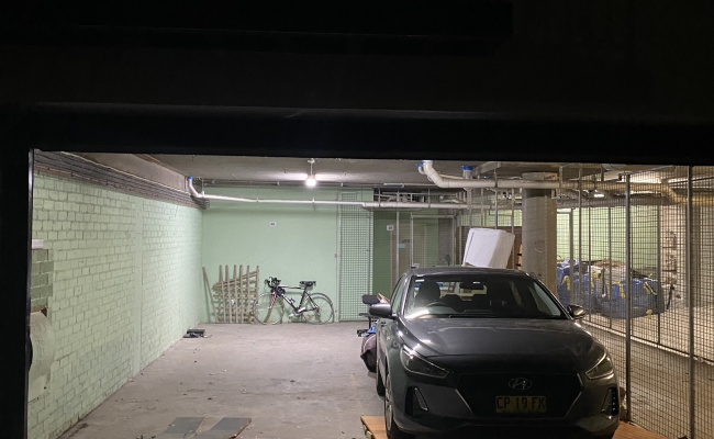 Indoor lot parking on Bellevue Street in Surry Hills New South Wales