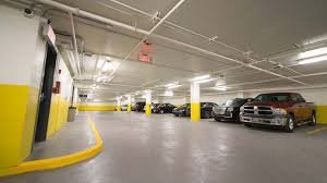 Indoor lot parking on Bennelong Parkway in Wentworth Point