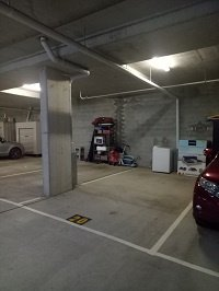 Lock up garage parking on Birley Street in Spring Hill QLD