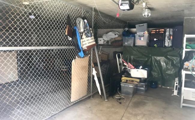 Lock up garage parking on Birrell Street in Waverley New South Wales