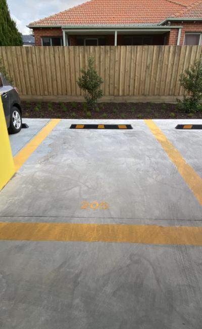 Indoor lot parking on Blair Street in Bentleigh Victoria