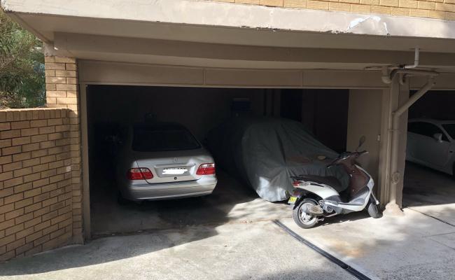 Undercover parking on Blair Street in North Bondi NSW