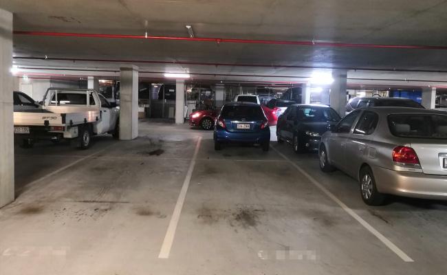 Great car park in QUT KG