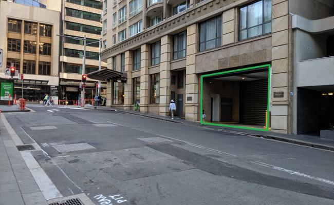 Undercover parking on Bond Street in Bond Street
