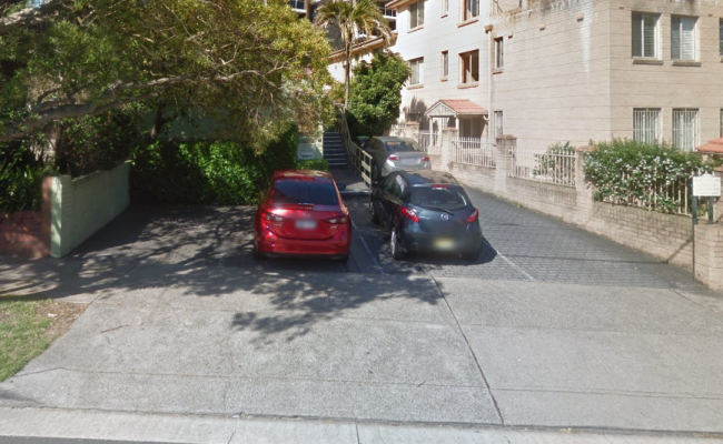 Driveway parking on Bondi Road in Bondi Junction New South Wales 2022