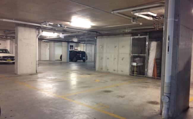 Indoor lot parking on Botany Road in Rosebery