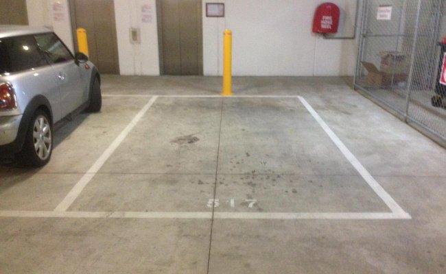 Indoor lot parking on Boundary Road in North Melbourne VIC