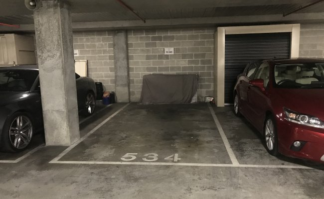 Undercover parking on Bourke Street in Surry Hills New South Wales