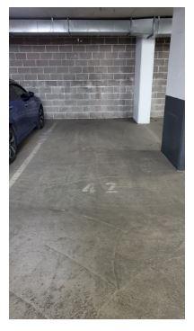 Indoor lot parking on Bourke Street in Mascot