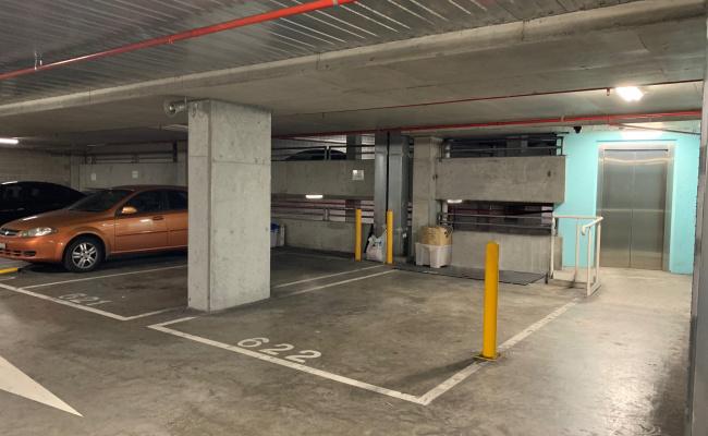 Indoor lot parking on Bourke Street in Surry Hills NSW