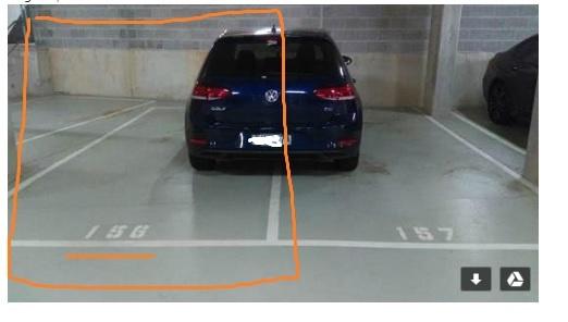 Undercover parking on Bourke Street in Waterloo New South Wales