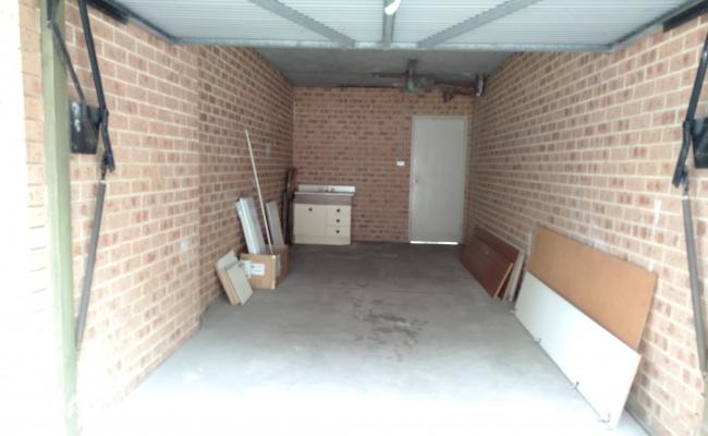 Lock up garage parking on Boyd Street in Blacktown