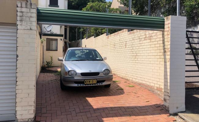 Driveway parking on Bridge Road in Glebe NSW