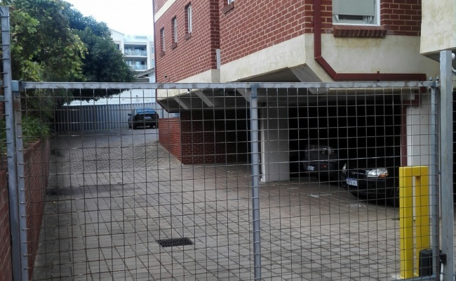 Outdoor lot parking on Bronte Street in East Perth