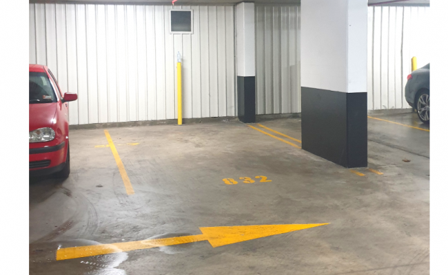 Indoor lot parking on Broome Street in Waterloo New South Wales