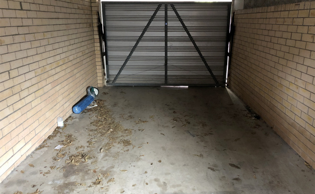 Lock up garage parking on Brunswick Street in New Farm Queensland