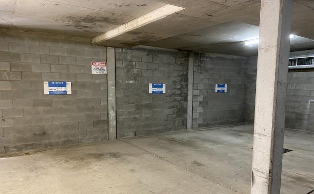 Indoor lot parking on Brunswick Street in New Farm Queensland