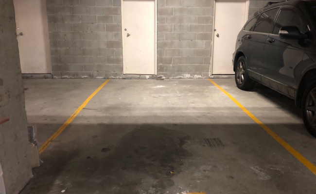 Indoor lot parking on Buckland St in Chippendale