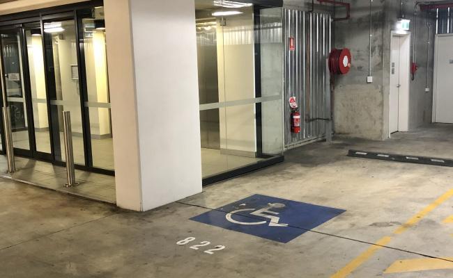 Bunda Street, City Centre secure parking 24/7 (Disabled parking)