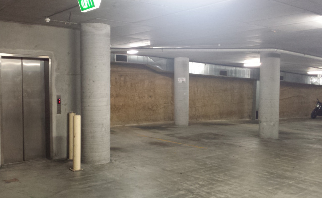 Indoor lot parking on Bunn St in Pyrmont