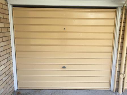 Lock up garage parking on Cambridge Street in Cammeray