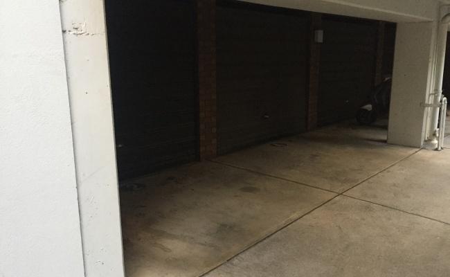 Lock up garage parking on Campbell Street in Parramatta