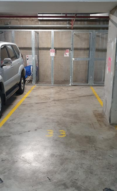 Indoor lot parking on Campbell Street in Parramatta