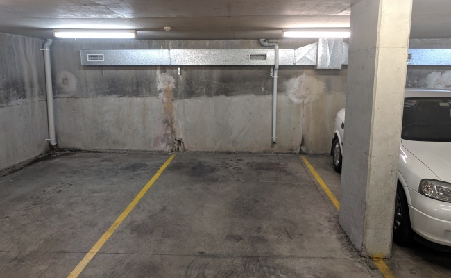 Indoor lot parking on Chandos Street in Crows Nest