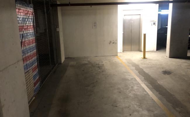 Lock up garage parking on Charles Street in Parramatta NSW