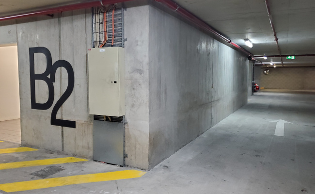 Undercover parking on Charlotte Street in Brisbane City Queensland 4000