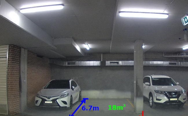 Indoor lot parking on Ann Street in Lidcombe New South Wales