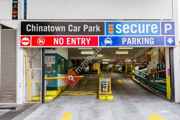 Undercover parking on Chinatown Mall in Fortitude Valley Queensland