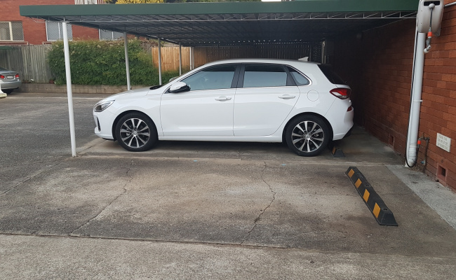 Outdoor lot parking on Church Street in Ashfield NSW
