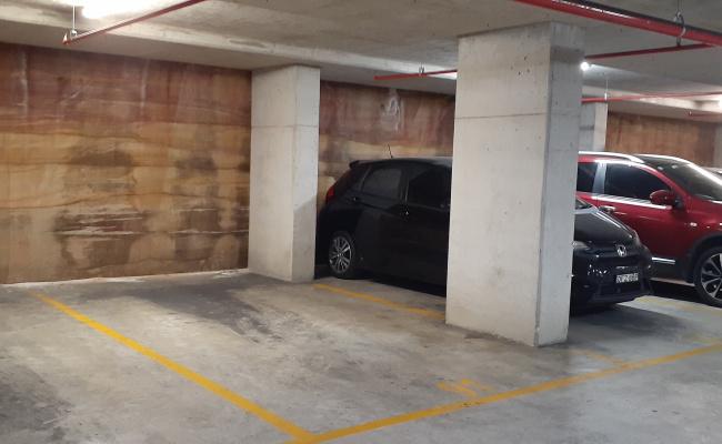 Undercover parking on Church Street in Parramatta