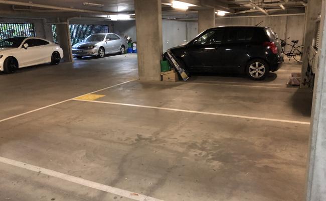 Lock up garage parking on Church Street in Richmond VIC