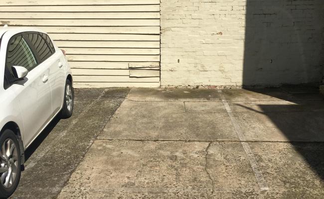 Convenient, secure parking in a four-space Richmond lot