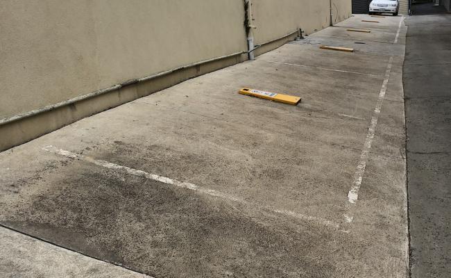 Outdoor parking space