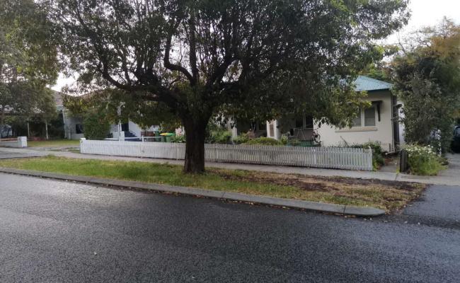 Outside parking on Clark Street in Nedlands Western Australia