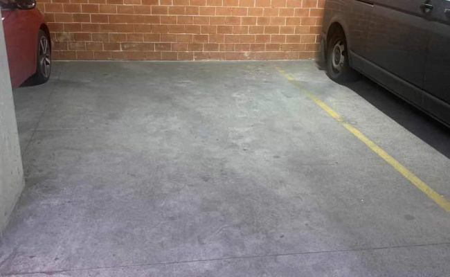 Lock up garage parking on Cleveland Street in Redfern New South Wales