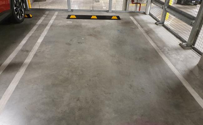 Indoor lot parking on Collins Street in Docklands