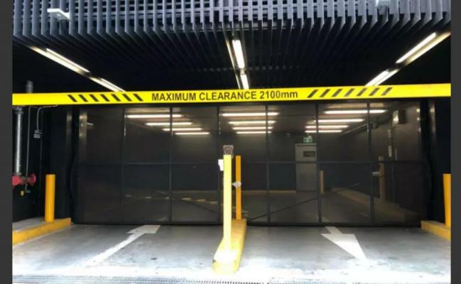 Indoor lot parking on Collins Street in Docklands Victoria 3008