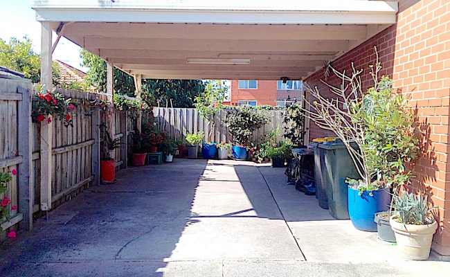 Carport parking on Colonel Street in Clayton Victoria