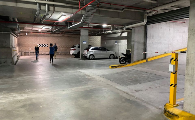 Indoor lot parking on Commercial Road in Newstead Queensland