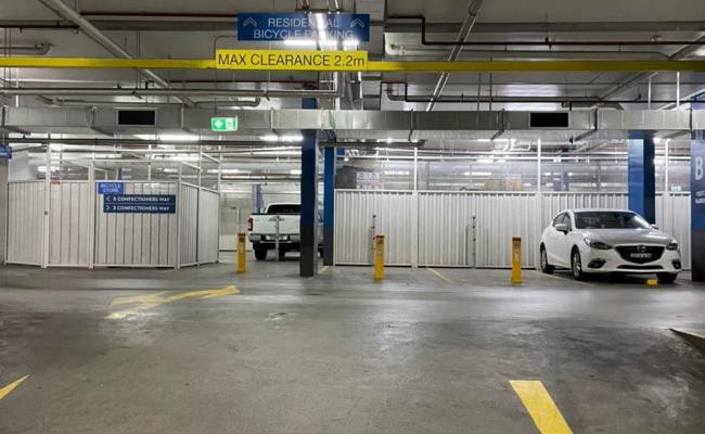 secure indoor parking space in Rosebery