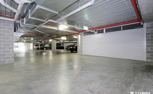 Indoor lot parking on Coranderrk Street in Canberra ACT