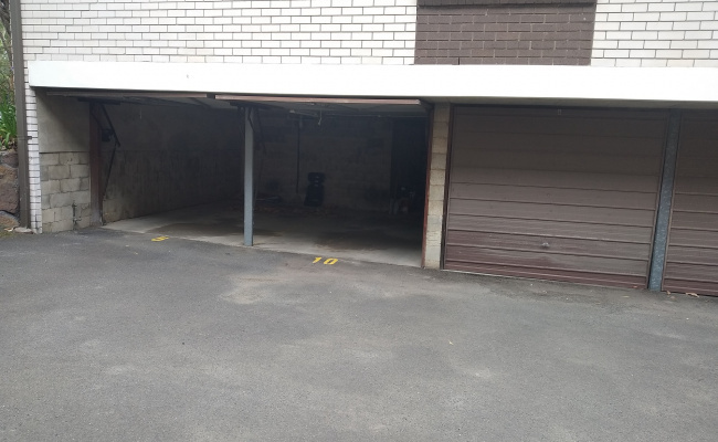 Lock up garage parking on Cottonwood Crescent in Macquarie Park