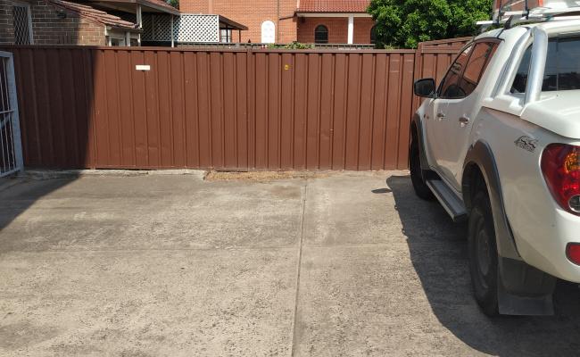 Outside parking on Coward Street in Mascot NSW