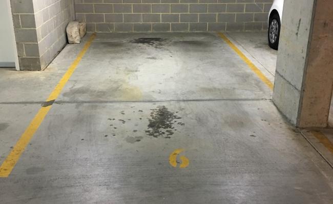 Indoor lot parking on Crown St in Woolloomooloo