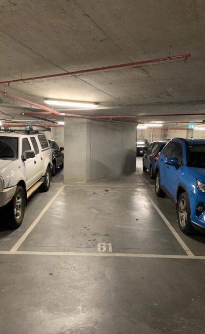 Indoor lot parking on Curzon Street in West Melbourne Victoria